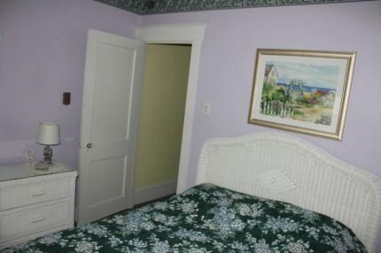 Ocean city condo master bedroom